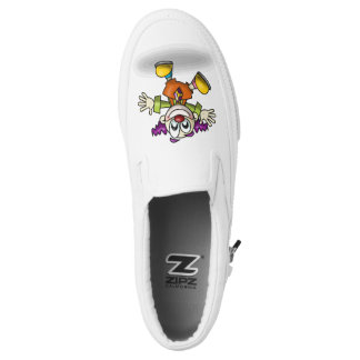 Happy Clown Printed Shoes