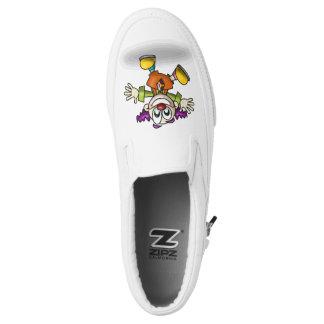 Happy Clown Slip On Shoes