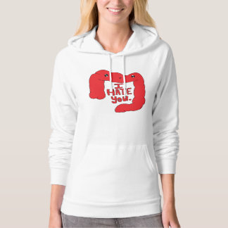 Happy Colon Hoodie Red