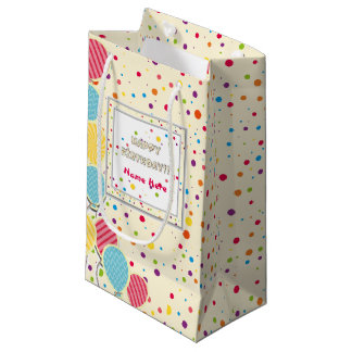 Happy Colorful Birthday Gift Bag