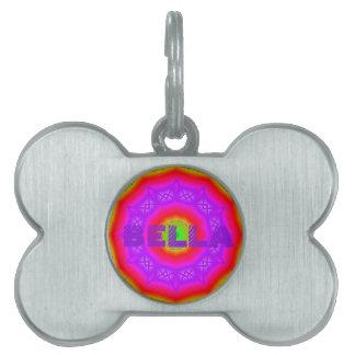 Happy Colors Bone Pet Tag