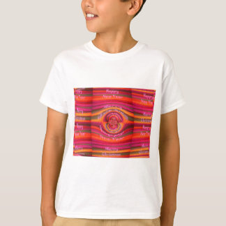 Happy Colors Merry Christmas Happy New Year  Desig Shirt
