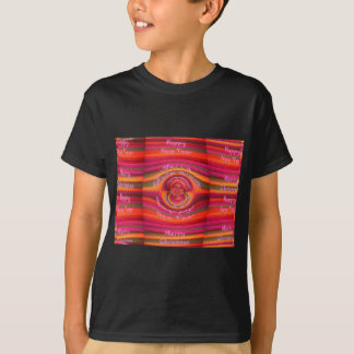 Happy Colors Merry Christmas Happy New Year  Desig T-shirts