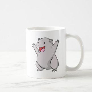 Happy Common Wombat Cartoon Coffee Mug