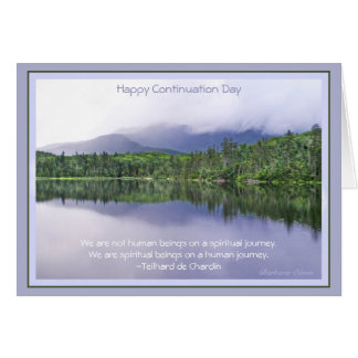 Happy Continuation Day:Celebrating Journey of Life Greeting Card