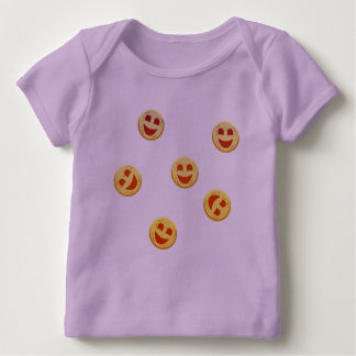 happy cookies faces baby T-Shirt