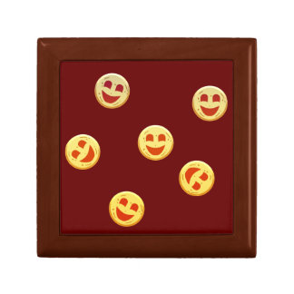 happy cookies faces gift box