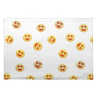 happy cookies faces placemat