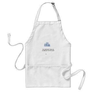 Happy cooking  you are melting me down standard apron