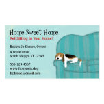 Happy Couch Dog Pack Of Standard Business Cards