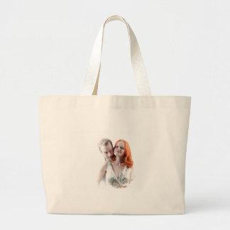 Happy Couple Jumbo Tote Bag