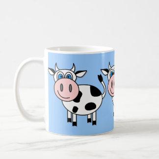 Happy Cow - Customizable! Basic White Mug