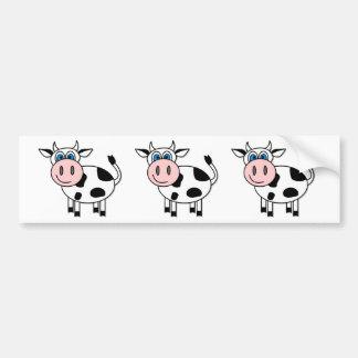 Happy Cow - Customizable Bumper Stickers