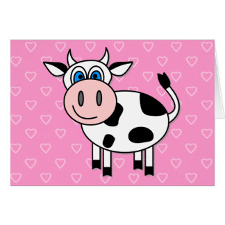 Happy Cow - Customizable! Card