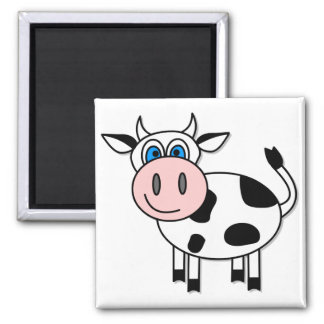 Happy Cow - Customizable! Magnet