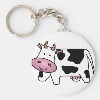 Happy Cow Key Ring