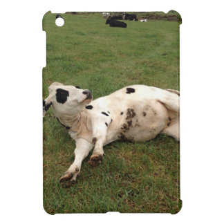happy cow organic farm iPad mini case
