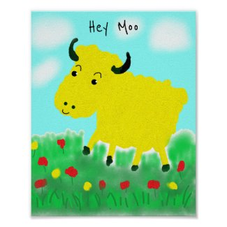 Happy Cow Poster