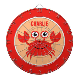 Happy Crab custom dart board