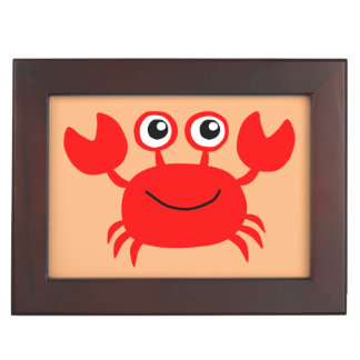 Happy Crab custom keepsake box