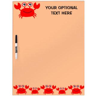 Happy Crab custom message board