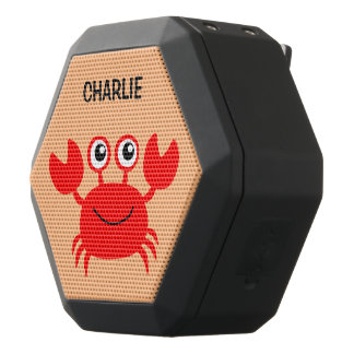 Happy Crab custom monogram bluetooth speaker