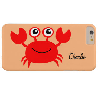 Happy Crab custom monogram cases