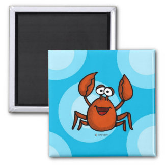 happy crab magnet