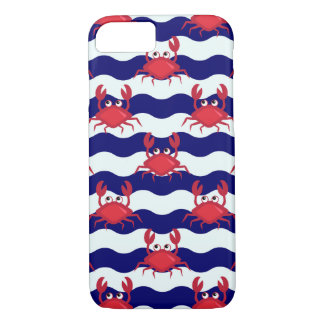 Happy Crabs Pattern iPhone 7 Case