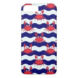 Happy Crabs Pattern iPhone 8 Plus/7 Plus Case
