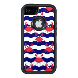Happy Crabs Pattern OtterBox Defender iPhone Case