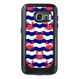 Happy Crabs Pattern OtterBox Samsung Galaxy S7 Case