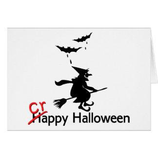 Happy Crappy Halloween Card
