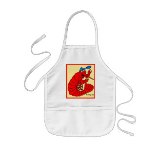 HAPPY CRAWFISH KIDS APRON