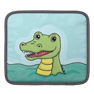 Happy Crocodile customisable iPad Sleeve