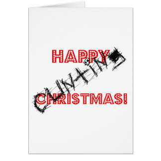 Happy Cunting Christmas Card