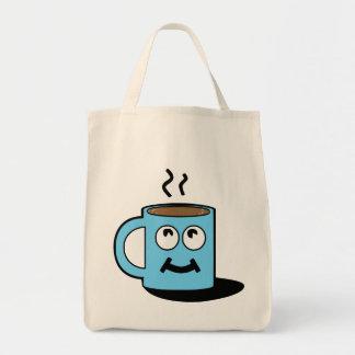 Happy Cup Canvas Bag