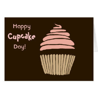 Happy Cupcake Day Birthday Card