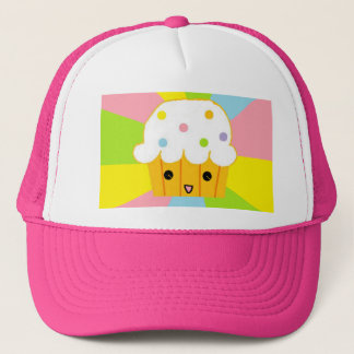 Happy Cupcake Trucker Hat
