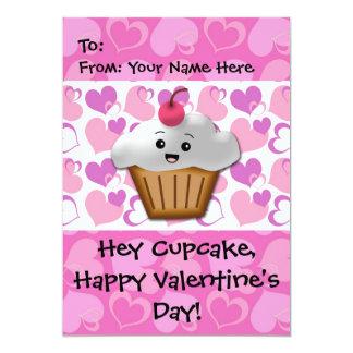 Happy Cupcake Valentine Invite