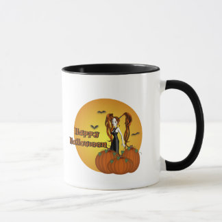 Happy  Cute Halloween Witch Mug