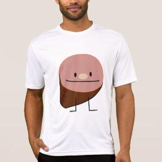 Happy Cute Holiday Ham Graphic Design Shirt