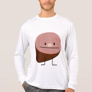 Happy Cute Holiday Ham Graphic Design T-shirt
