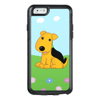 Happy Cute Puppy & Field OtterBox iPhone 6/6s Case