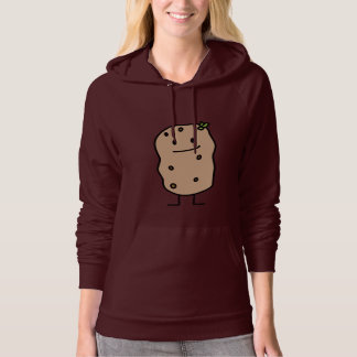 Happy Cute Smiling Potato Potatoes Hoodie