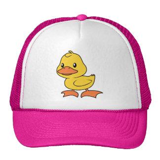 Happy Cute Yellow Duckling Cap