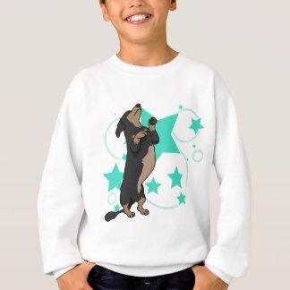 Happy dachshund sweatshirt