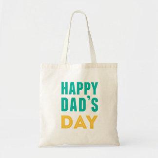 Happy Dad s Day Canvas Bag