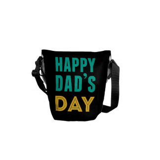 Happy Dad's Day Courier Bags