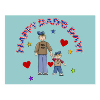 Happy Dad's Day T-shirts, Mugs, Gifts Postcard